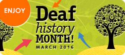 Deaf History Month 2016