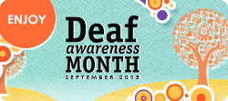 Deaf Awareness Month 2015