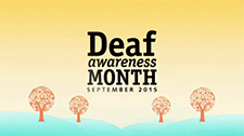 Deaf Awareness Month